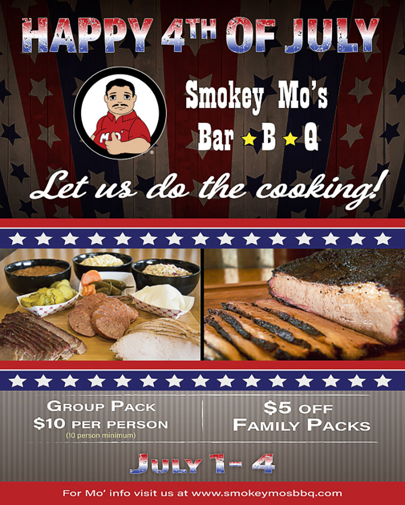 4th of July BBQ Special